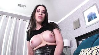 Step sister in law with giant boobs makes me cum unfathomable inside her cunt whilst Im bound up below her