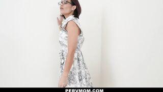 PervMom - Stepmom Sucks My Schlong For Therapy