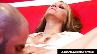 Breasty Mother I'd Like To Fuck Julia Ann Fucks Her Student During The Time That Tutoring Him!