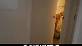 SisLovesMe - Itty Bitty Step-Sis Bribed and Drilled