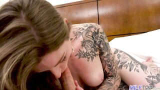 Inked Up Lonely Divorced Wife Banged