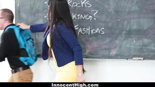 InnocentHigh - Sexy mother I'd like to fuck Teacher Bangs Student