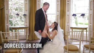 French bride screwed by the most excellent studs