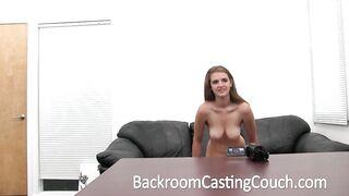 Breasty Teen Banged Hard and Swallows Cum