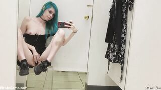 Banging myself in a dressing room