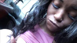 Large Natural Breasted Black Teen Cheats on Boyfriend - Kandie Monae