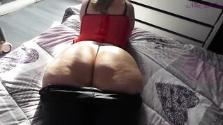 I go to my step sister's bedroom to screw her biggest butt!