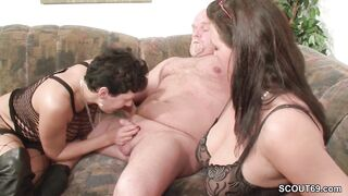 German mother I'd like to fuck Show Pair to Bang Precious in Trio