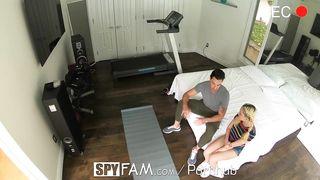 SPYFAM Kinky Step Daughter Tastes Large Shlong Step Daddy