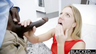 BLACKED Candice Dare Booty Screwed by Giant Ebony