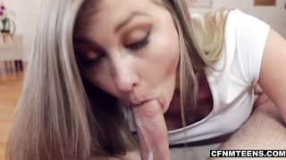 Step-sister seduces and bangs her brother